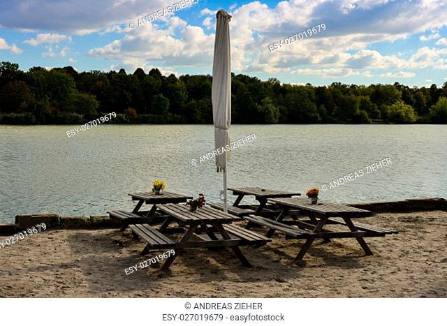 sitting on sonnenstrabnd