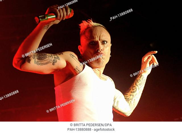 The singer of the English band The Prodigy, Keith Flint, will be performing on Monday (2.3.2009) at the Huxleys in Berlin