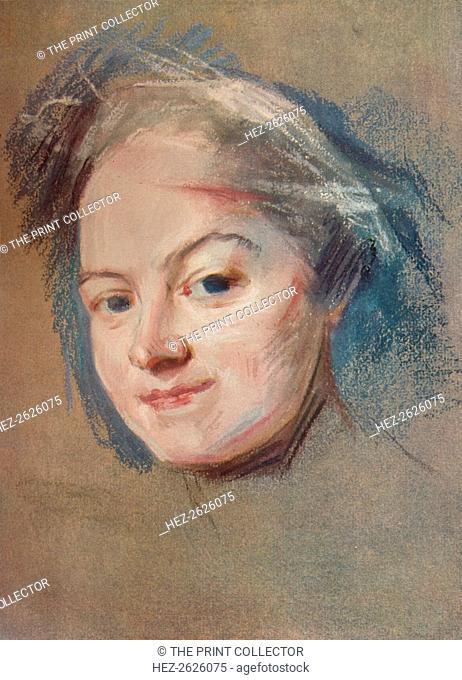 'Madame Favart, c1745. Artist: Maurice-Quentin de La Tour