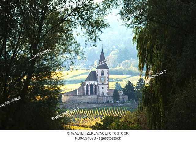 Hunawihr. Alsace, France