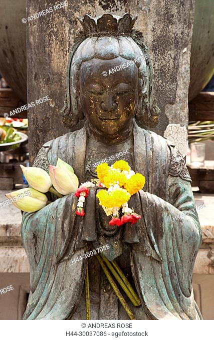 Gottesstatue Kun Iam, Kun Iam, Wat Phra Kaew Königspalast, Bangkok, Thailand