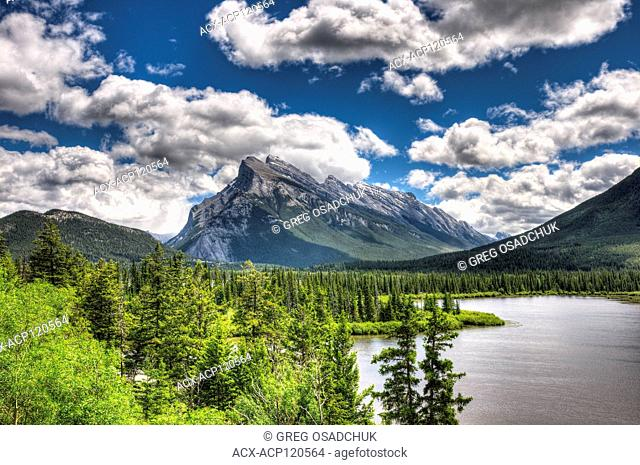 Vermillikon Lakes near Banff, Alberta