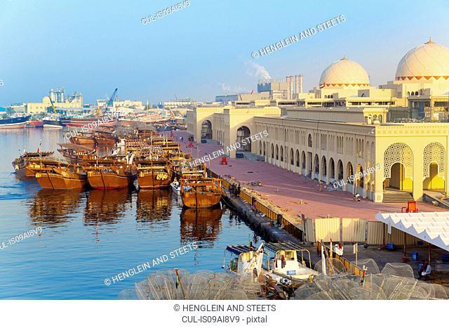 Sharjah fish market, United Arab Emirates