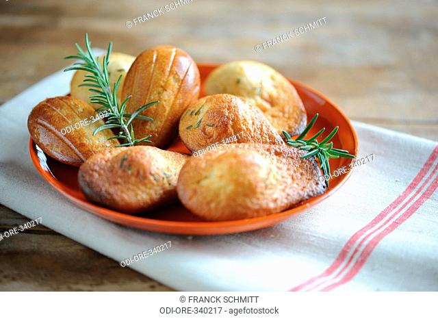 Rosemary madeleines
