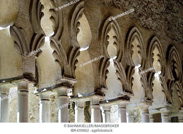 Ravello Campania Italy Italia Villa Rufolo moorish columns