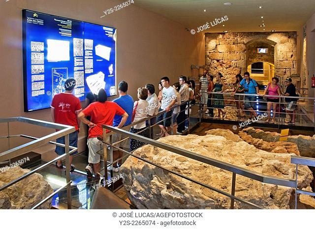 "Archaeological site """"La Casa del Obispo"""" - from the 8th century BC to 17th century , Cadiz, Region of Andalusia, Spain, Europe"