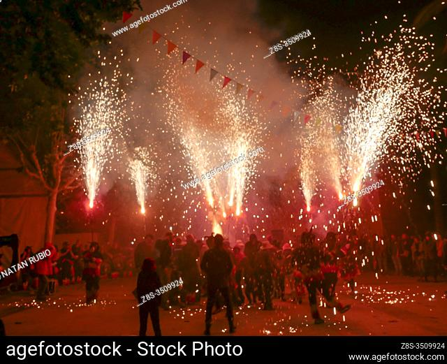 Catalan tradition, Els dimonis,