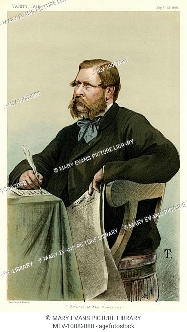 WILLIAM HENRY WADDINGTON French politician and archaeologist of English parentage