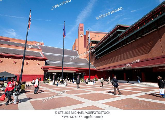 The British Library in London,England