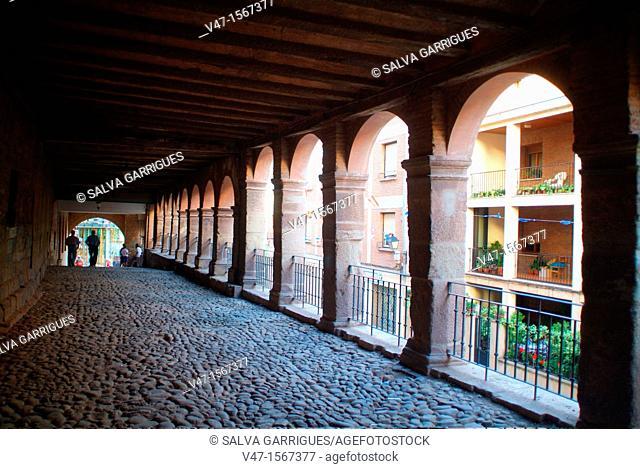 Old town of Navarrete, Navarrete, La Rioja, Spain, Europe