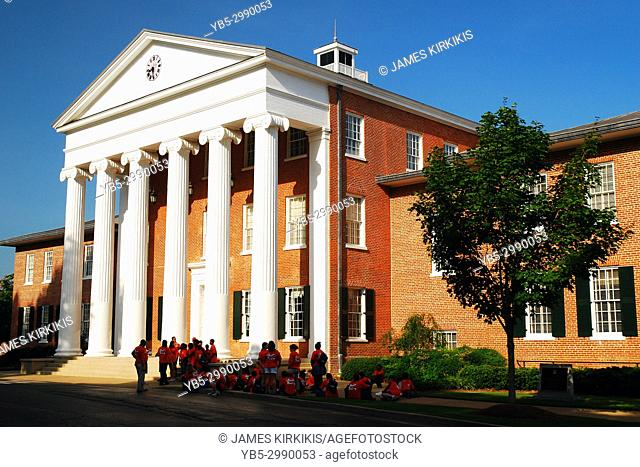 The University of Mississippi's Lycium Building is one of the oldest on the school's campus