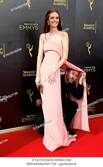 2016 Creative Arts Emmy Awards - Day 1 Featuring: Lydia Hearst, Chris Hardwick Where: Los Angeles, California, United States When: 11 Sep 2016 Credit:...
