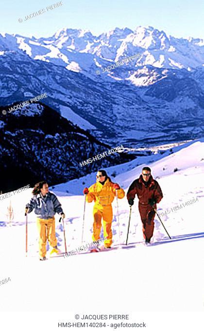 France, Hautes-Alpes (05), Vars pass (Model Release OK)