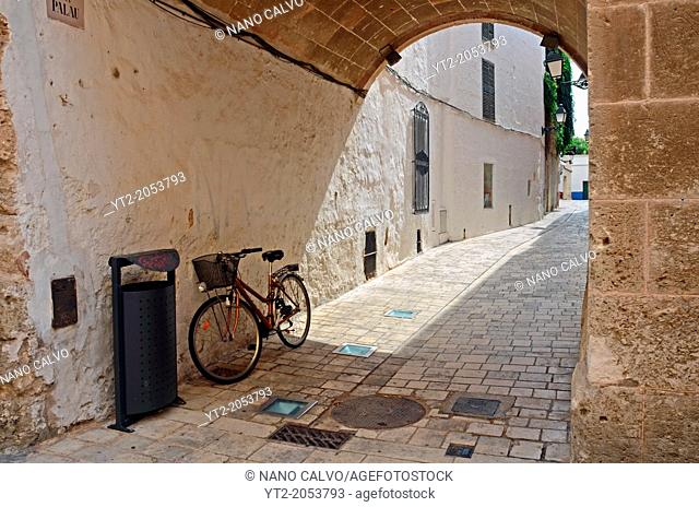 Old Quarter in Ciudatella, Menorca
