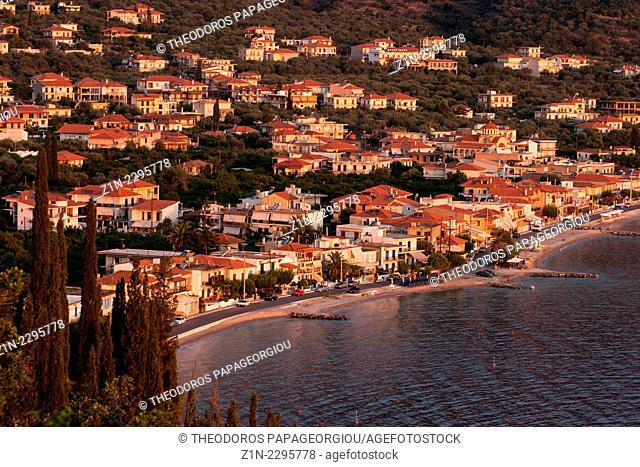 Tyros town. Arcadia, Peloponnese, Greece