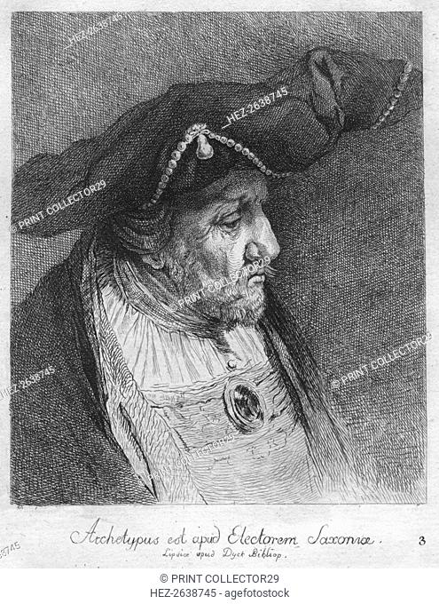 'Archetypus est apud Electorem Saxonie. Lipsice apud Duck Bibliop', 1769. Artist: Christian Gottfried Schulze
