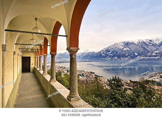 Madonna del Sasso, Locarno, Canton Ticino, Switzerland