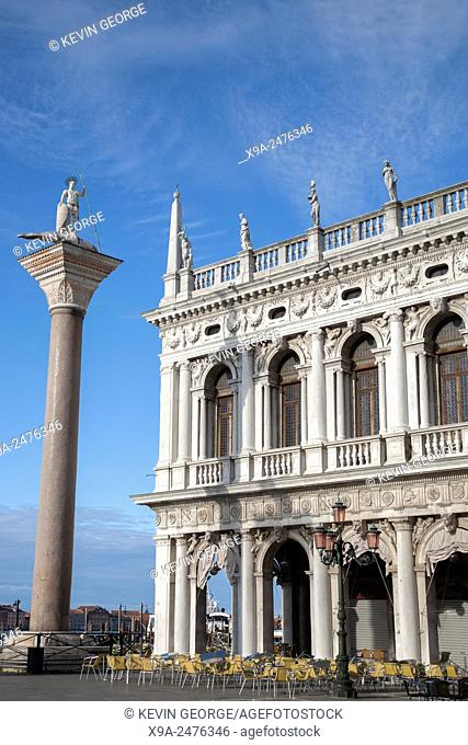 St Marks Square; Venice, Italy