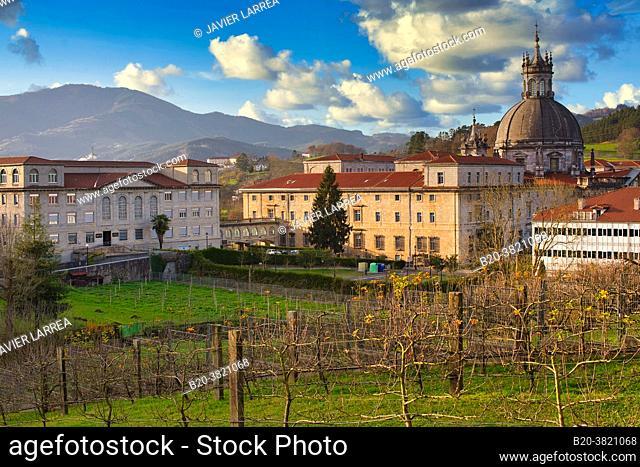 San Ignacio de Loyola Sanctuary, Ignatian Way, Azpeitia, Gipuzkoa, Basque Country, Spain, Europe