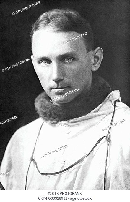 Czech polar explorer Vaclav Vojtech, member of Byrd expedition to the Antarctic in 1929. Vaclav Vojtech is the first Czech to entered Antarctica