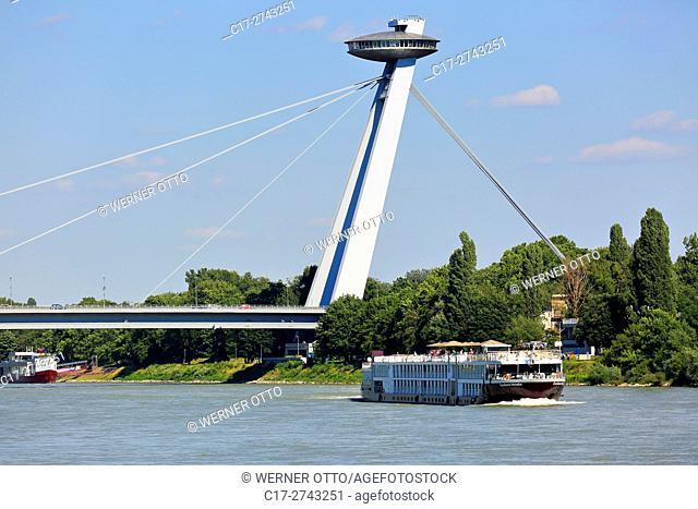Slovak Republic, Slovakia, Bratislava, Capital City, Danube, Little Carpathians, Bridge of the Slovak National Uprising, New Bridge