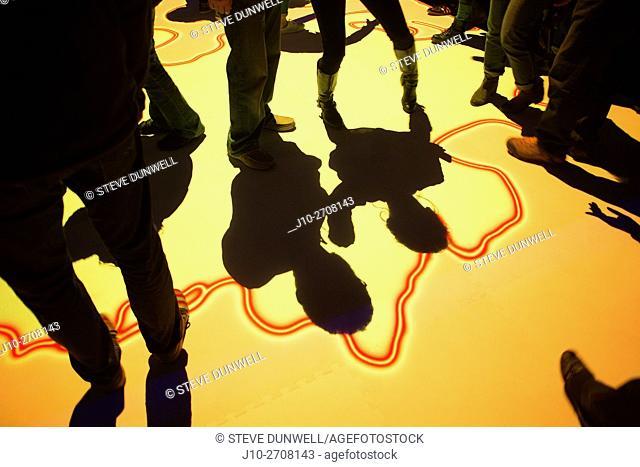 Shadows at Illuminus event, Lansdowne St. , Boston, MA, USA