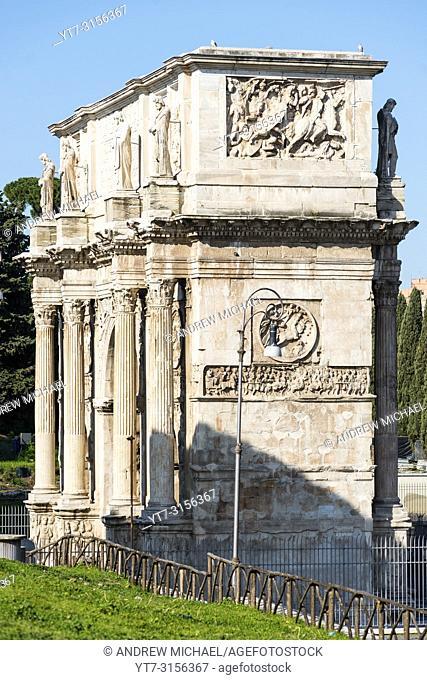 Arch of Constantine, Roman Forum, Rome, Lazio, Italy
