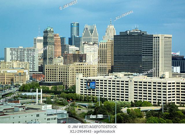 Detroit, Michigan - Downtown Detroit