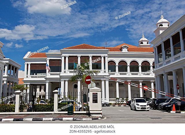 Hoher Gerichtshof, Georgetown, Penang, Malaysia, Südostasien High Court Building, Georgetown, Penang, Malaysia, Southeast Asia