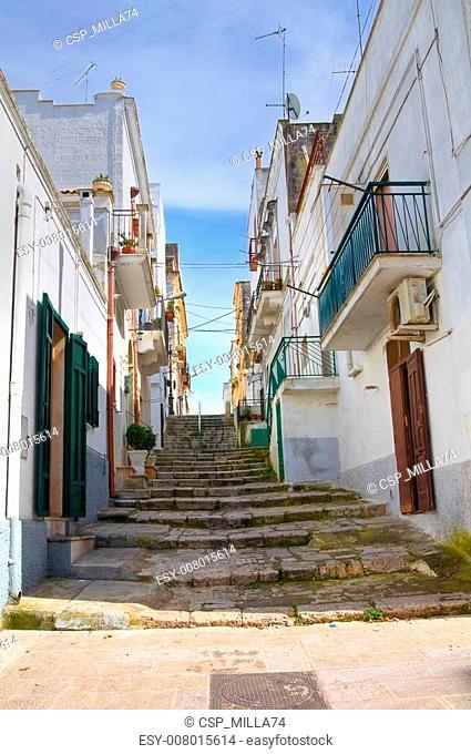 Alleyway. Ginosa. Puglia. Italy
