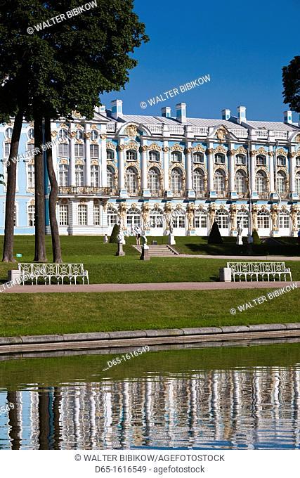 Russia, Saint Petersburg, Pushkin-Tsarskoye Selo, Catherine Palace