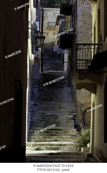 Staircase, Greece