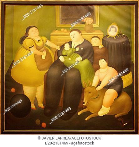El Viudo (The Widower). Fernando Botero. Museo de Arte Latinoamericano de Buenos Aires. MALBA. Fundación Costantini. Buenos Aires. Argentina