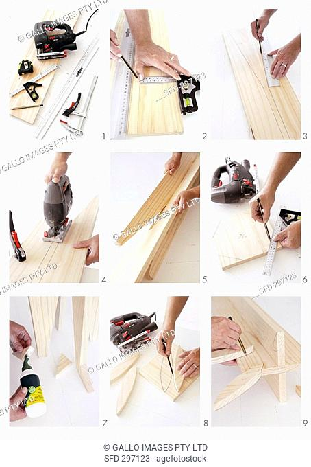 Making a wooden rack