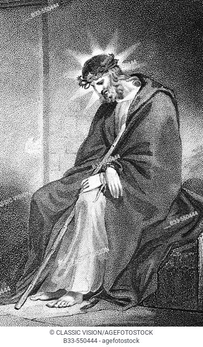 Christ crowned with thorns, by Hopwood, 1808.  (The history and life of our blessed Lord and Saviour Jesus Christ)