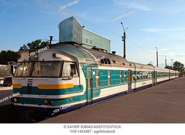 Railway Station, Tallinn, Harju, Estonia