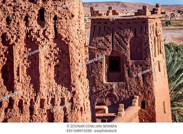 Kasbah Ait Ben Haddou, Morocco, Africa. UNESCO World Heritage Site