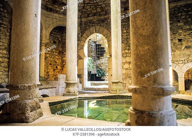 Arab baths, Girona. Catalonia, Spain