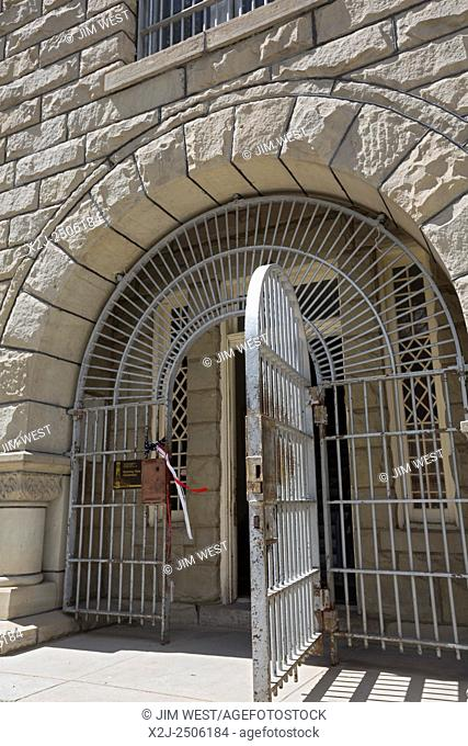 Rawlins, Wyoming - The former Wyoming State Penitentiary, which closed in 1981 after housing 13, 500 inmates in its 80 years of operation