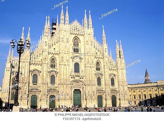 Duomo. Milan. Lombardia, Italy