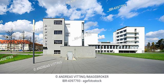 The Bauhaus Dessau, Dessau, Saxony-Anhalt, Germany