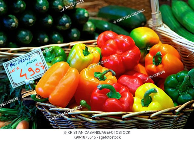 Peppers, Paris, Ile de France, France, Europe