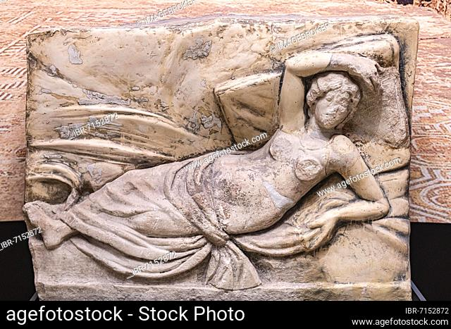 Roman excavations in the Unesco world heritage site ancient roman ruins of Gamzigrad, Serbia, Europe