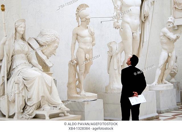 Italy, Treviso province, Possagno, 'Gipsoteca', Antonio Canova Museum