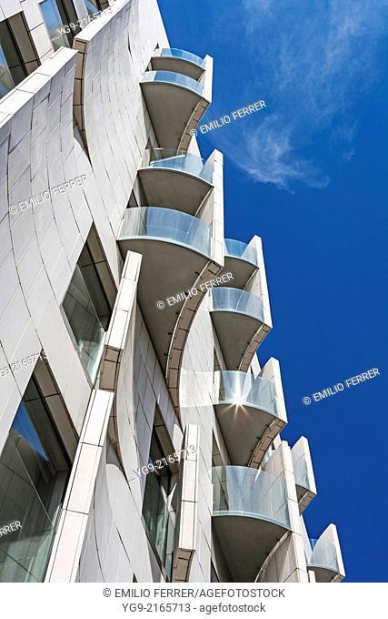 Omm hotel in Barcelona. Spain