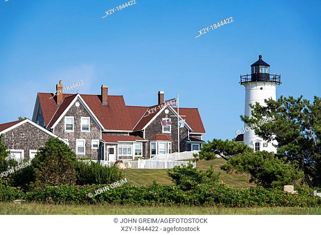 Nobska Lighthouse, Woods Hole, Cape Cod, Massachusetts, USA