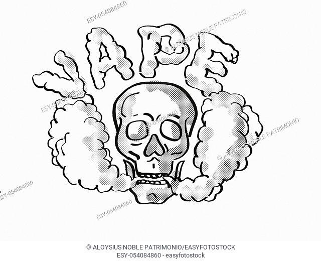 Skeleton Smoking Cigarette Isolated On White Stock Photos And Images Agefotostock