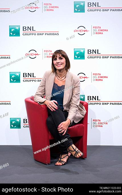 """Elisa Amoruso attend the photocall of the movie """"""""Maledetta Primavera"""""""" during the 15th Rome Film Festival on October 21, 2020 in Rome, Italy"""