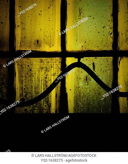 Hose and window in industrial building