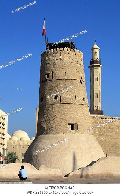 United Arab Emirates, Dubai, Museum, Al Fahidi Fort, Grand Mosque